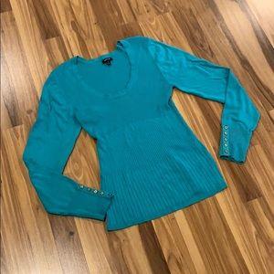 Teal sweater ‼️